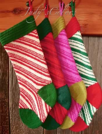 kit candy cane christmas stocking by judys colors