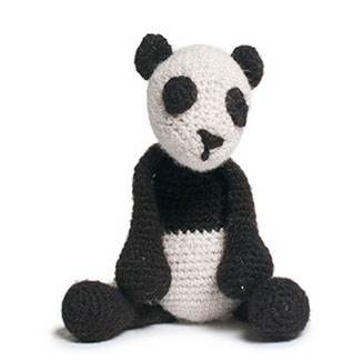 The Yarn Barn LLC: ANIMAL- Fiona the Panda Kit by Toft