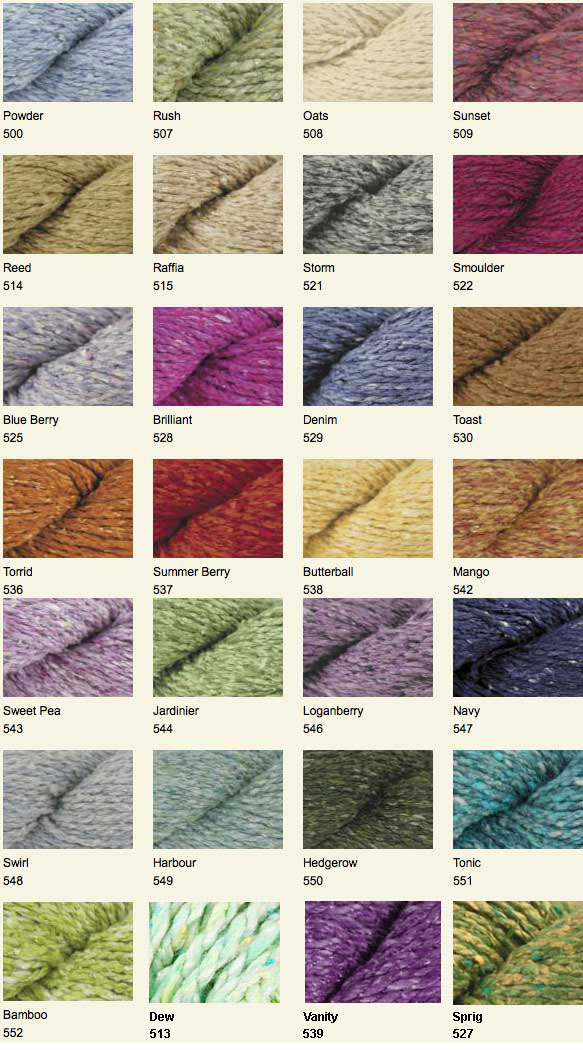 Knitting Patterns For Rowan Summer Tweed : The Yarn Barn LLC: YARN: SUMMER TWEED by Rowan Yarns